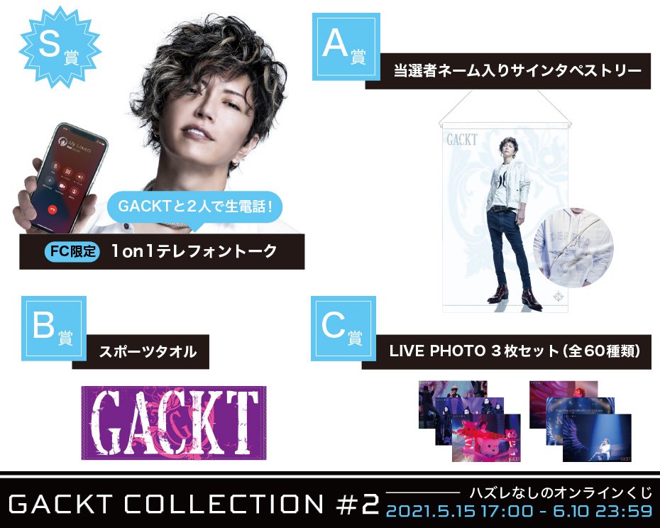 GACKT COLLECTION #2